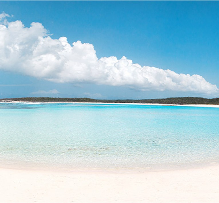Turquoise Waters At Sandy Cay