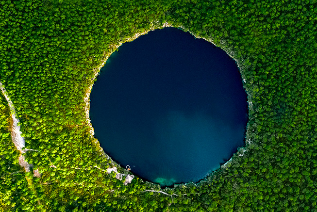 ecotourism blue holes national park